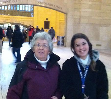 Nicole With Grandma