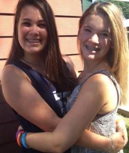 Nicole and Friend